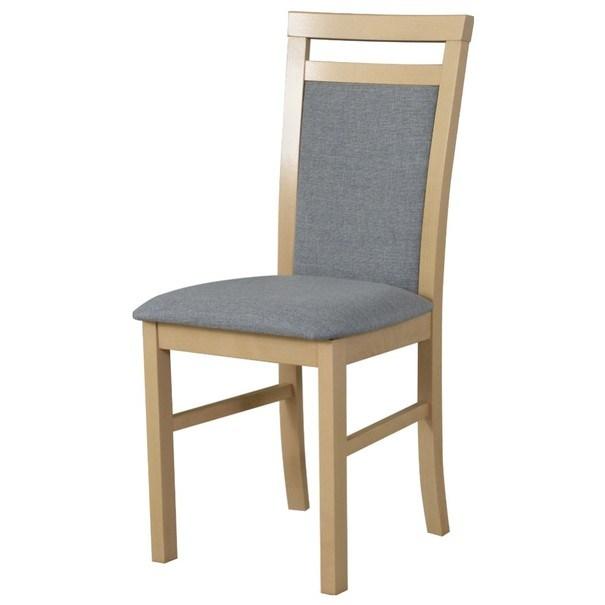 Jídelní židle MILAN 5 béžová/šedá 1