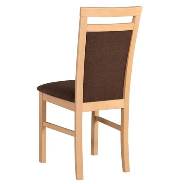Jedálenská stolička MILAN 5 sonoma/hnedá 2