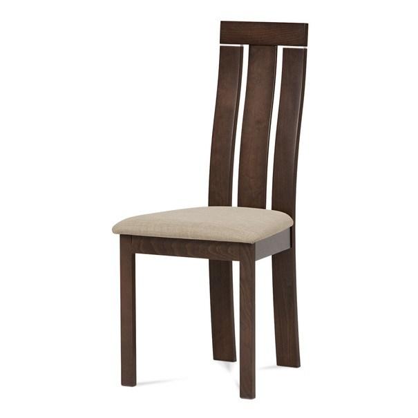Jídelní židle MILENA ořech/magnolia 1
