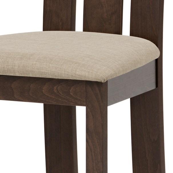 Jídelní židle MILENA ořech/magnolia 4