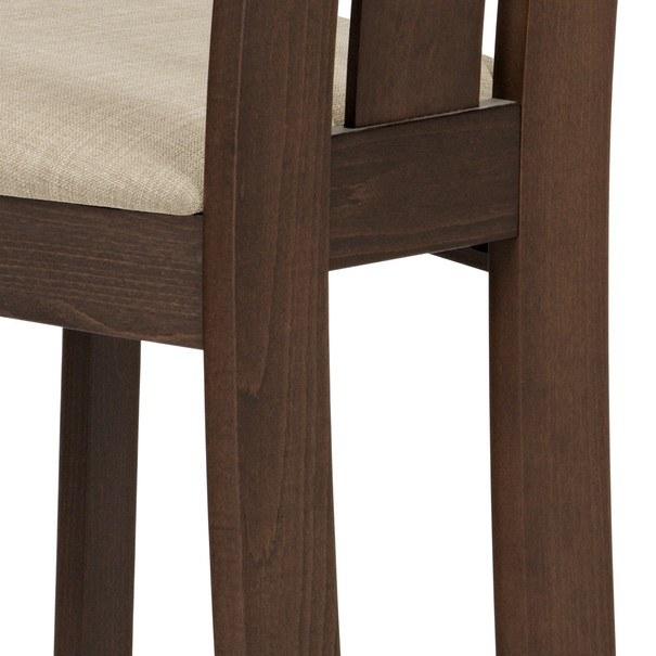 Jídelní židle MILENA ořech/magnolia 5