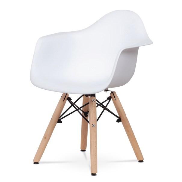 Dětská židle MINNIE bílá 1