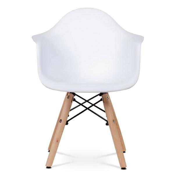 Dětská židle MINNIE bílá 2