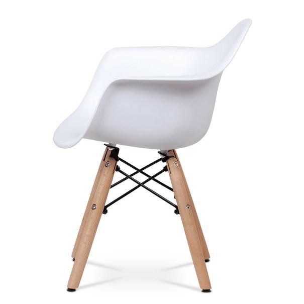 Dětská židle MINNIE bílá 3