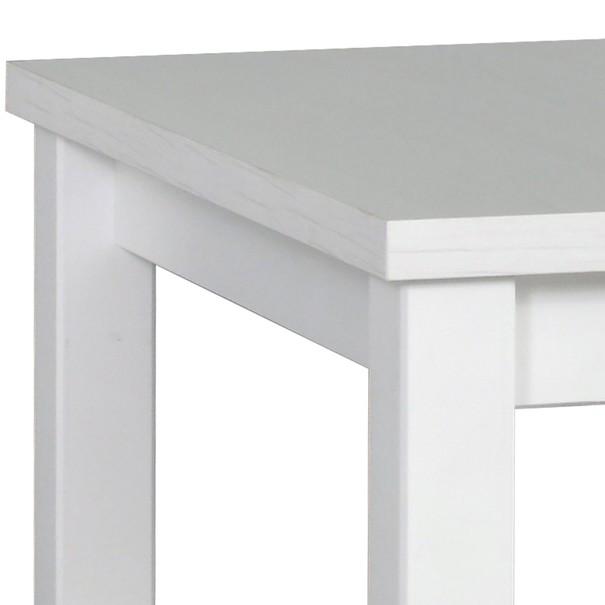 Jídelní stůl  MOLENA 1 bílá 2