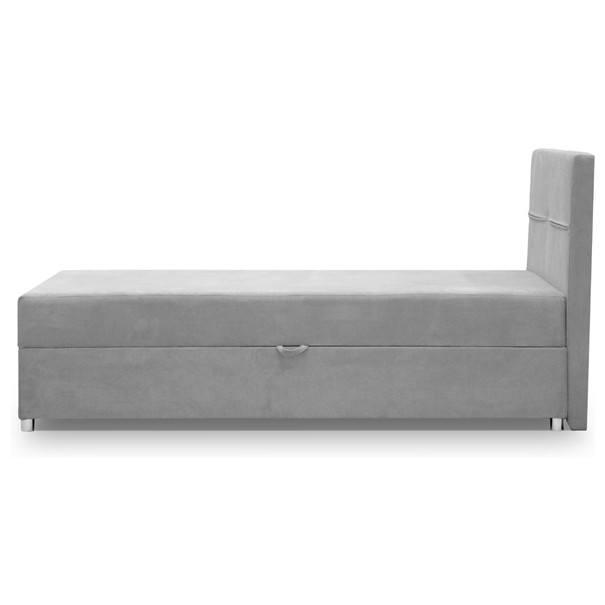 Postel MONTY šedá, 120x200 cm 4