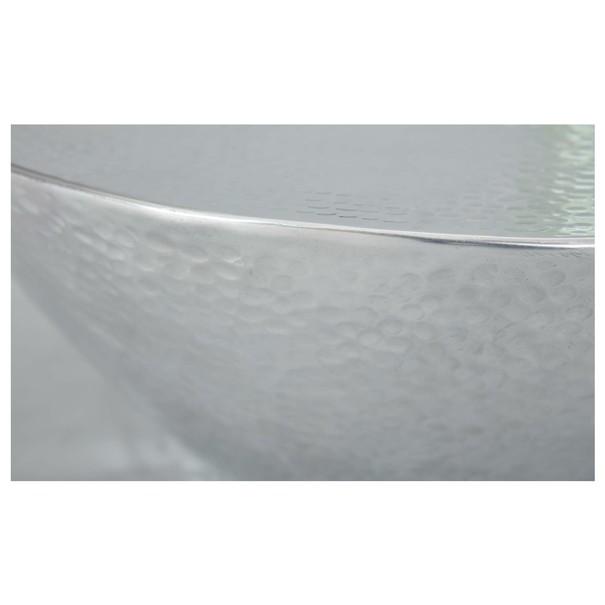 Konferenční stolek MOONA stříbrná 2