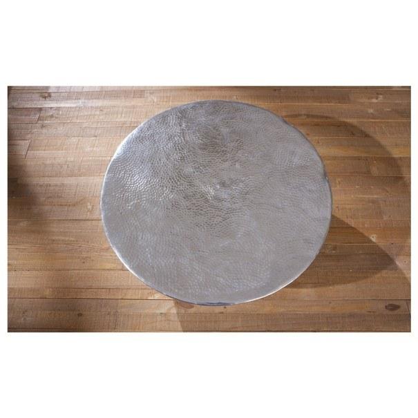 Konferenční stolek MOONA stříbrná 3