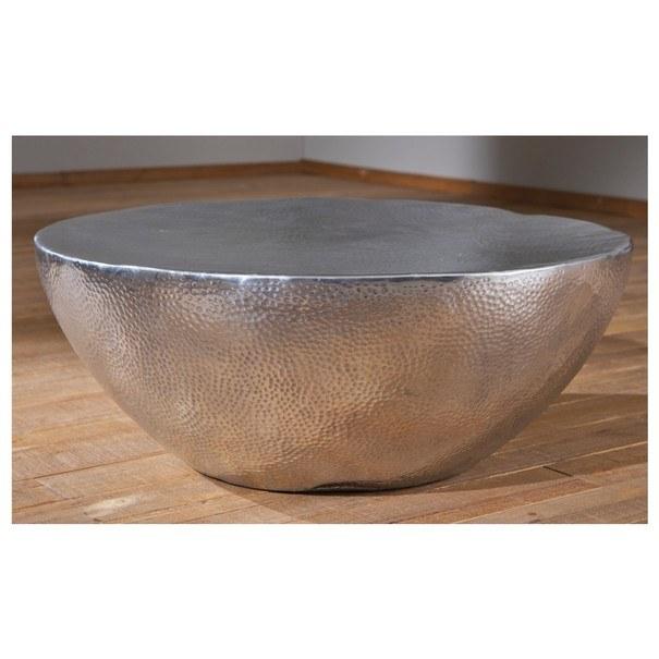 Konferenční stolek MOONA stříbrná 7