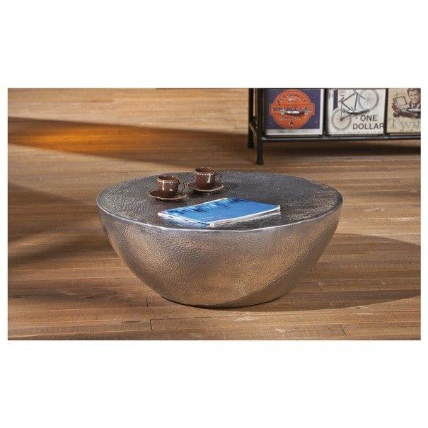 Konferenční stolek MOONA stříbrná 9