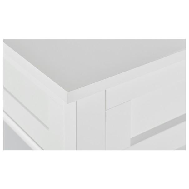 Konferenční stolek MOSI bílá 4