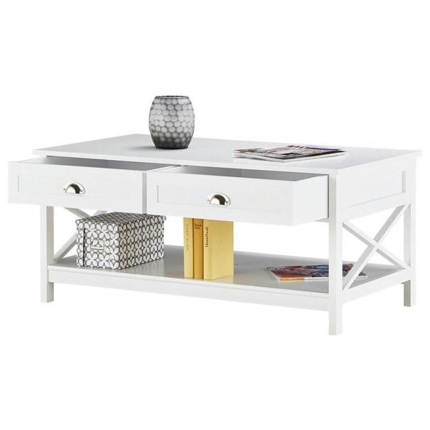 Konferenční stolek MOSI bílá 7
