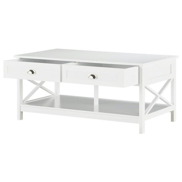 Konferenční stolek MOSI bílá 8