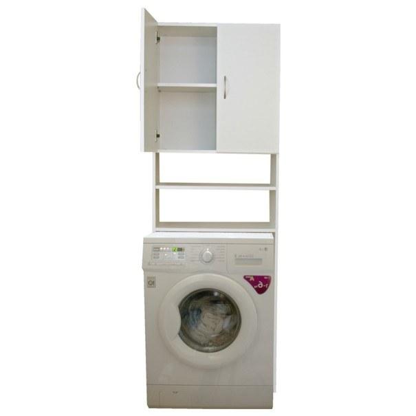 Skříňka nad pračku NELLY bílá 2