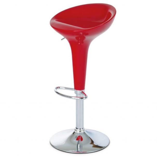 Barová židle NEVADA 1 červená 1