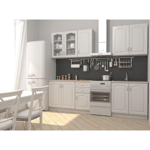 Kuchynská zostava NIKA 200 cm, biela 1