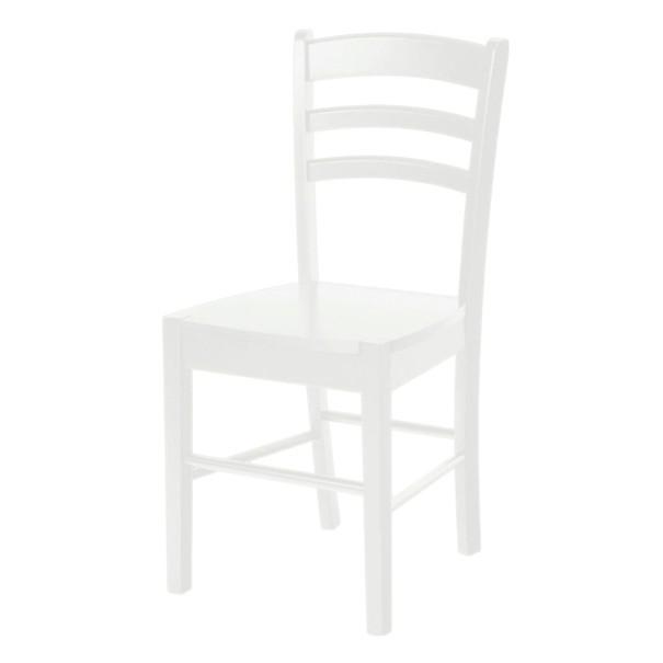Jedálenská stolička NIKITA biela 1
