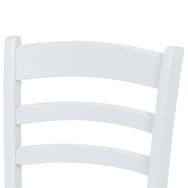 Jedálenská stolička NIKITA biela 3