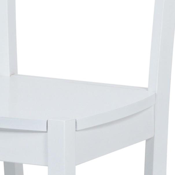 Jedálenská stolička NIKITA biela 5
