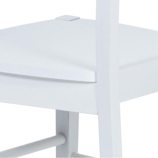 Jedálenská stolička NIKITA biela 6