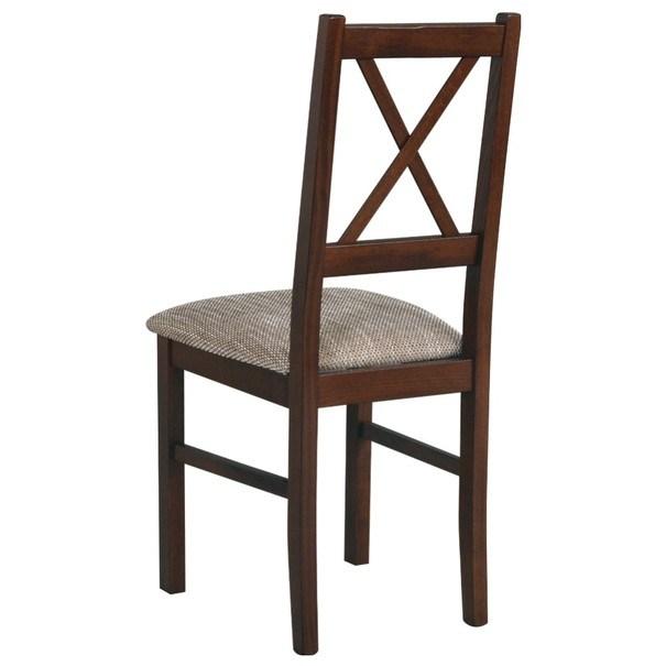 Jídelní židle NILA 10 hnědá 2
