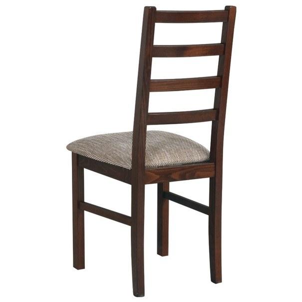 Jedálenská stolička NILA 8 hnedá 2
