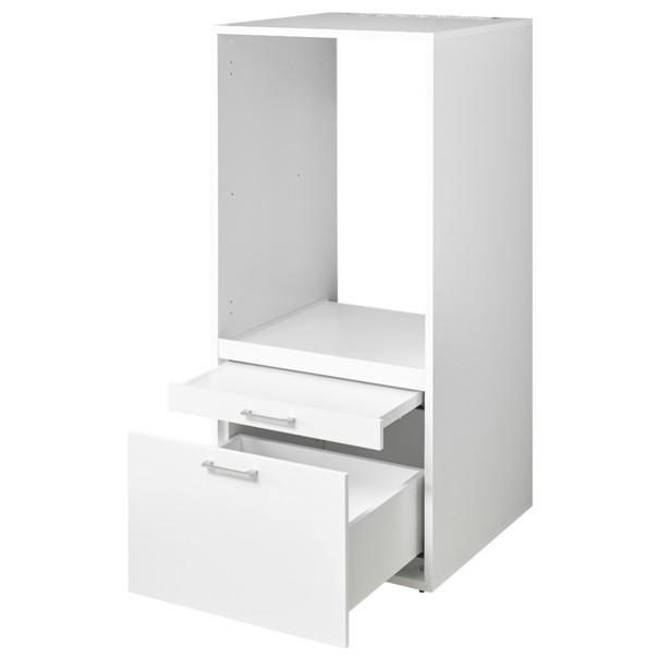 Skriňa na práčku NIXXI biela 3