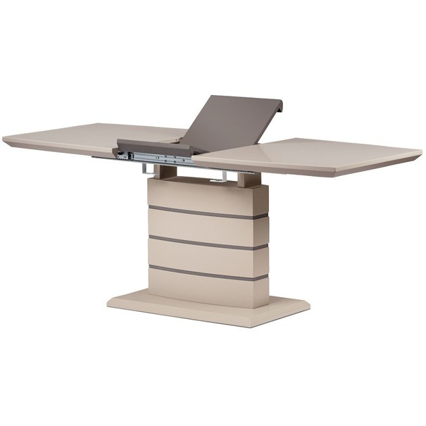 Jídelní stůl NOAH cappuccino/šedá 3
