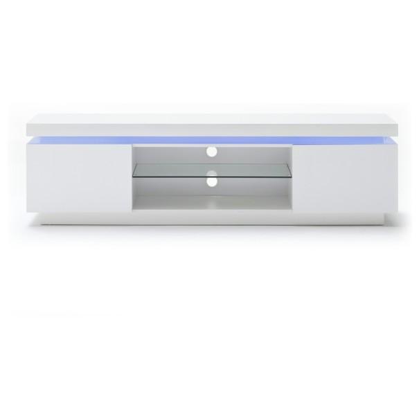 Sconto TV stolík NOEL 1 biela
