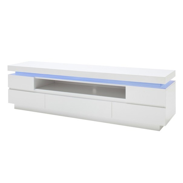 Sconto TV stolík NOEL 2 biela