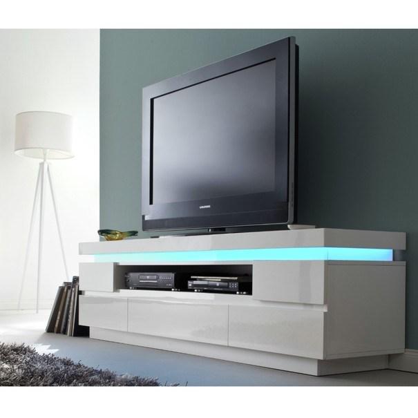 TV stolek NOEL 2 bílá 2