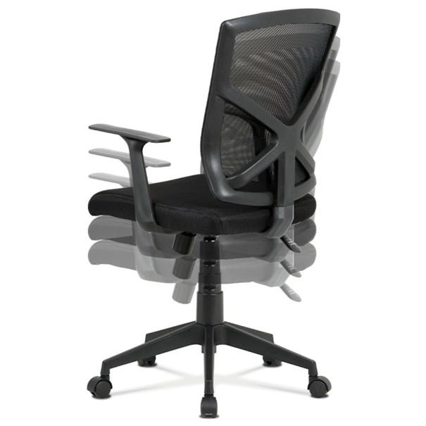 Kancelářská židle NORMAN černá 11