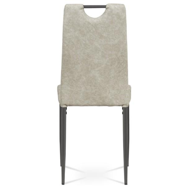 Jídelní židle OLINA šedá/antracitová 5