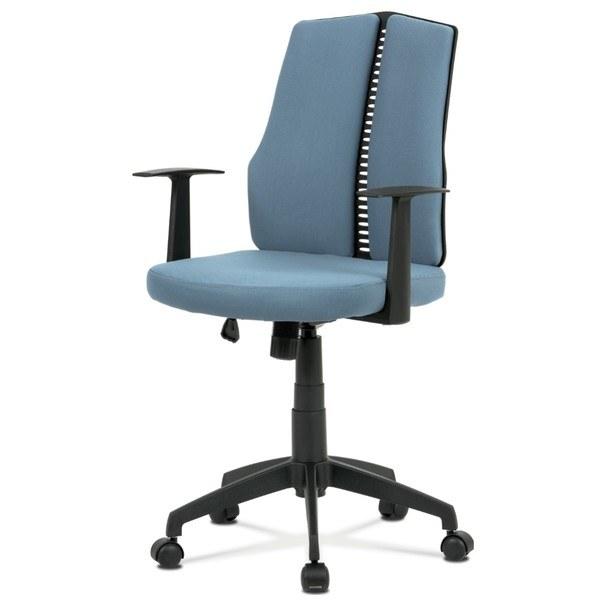 Kancelárska stolička OLIVER modrá 1