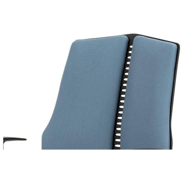 Kancelárska stolička OLIVER modrá 6