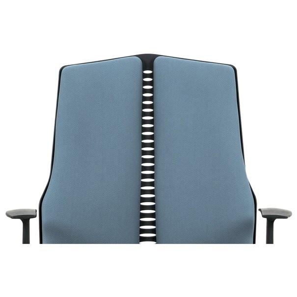 Kancelárska stolička OLIVER modrá 10