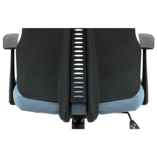 Kancelárska stolička OLIVER modrá 11