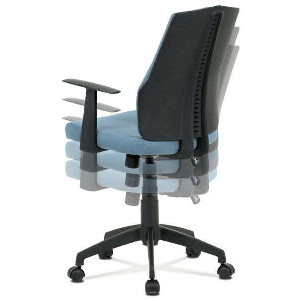 Kancelárska stolička OLIVER modrá 13