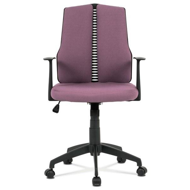 Kancelářská židle OLIVER fialová 2