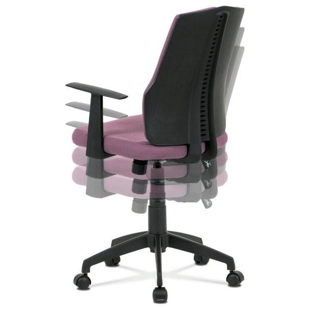Kancelářská židle OLIVER fialová 6