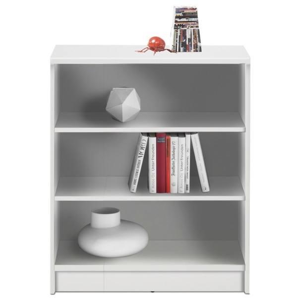 Regál/knihovna OPTIMUS 35-002 bílá 1
