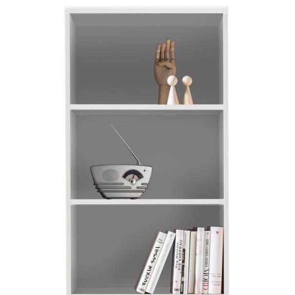 Regál/knihovna OPTIMUS 35-015 bílá 2