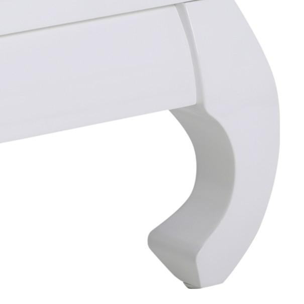 Konferenční stolek OSAKA II bílá vysoký lesk 2