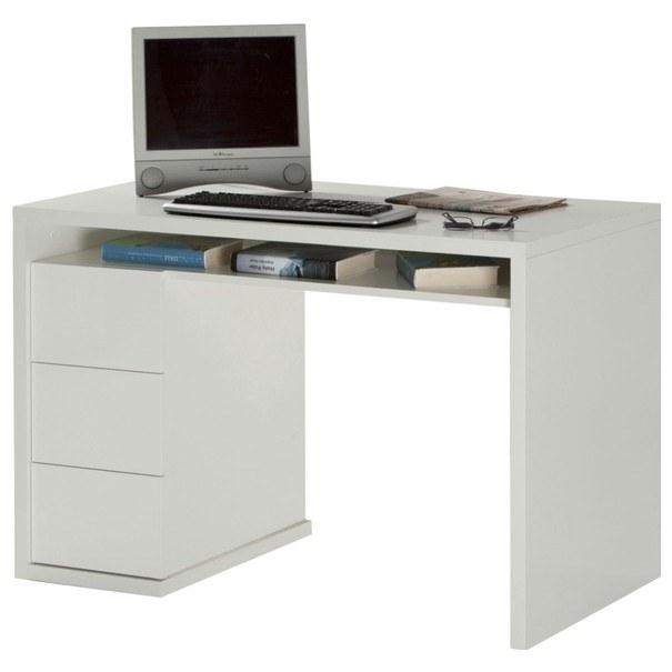 Psací stůl OSTARA 2 bílá/vysoký lesk 1