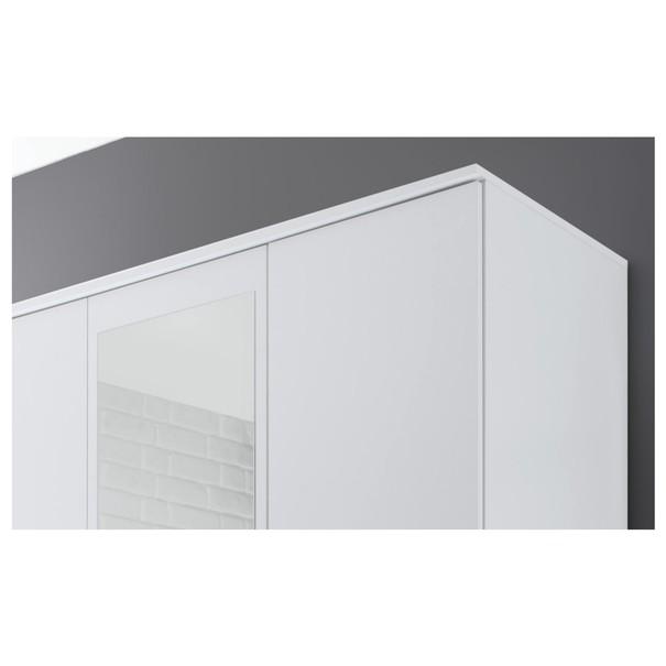 Šatní skříň OTMAR bílá 4