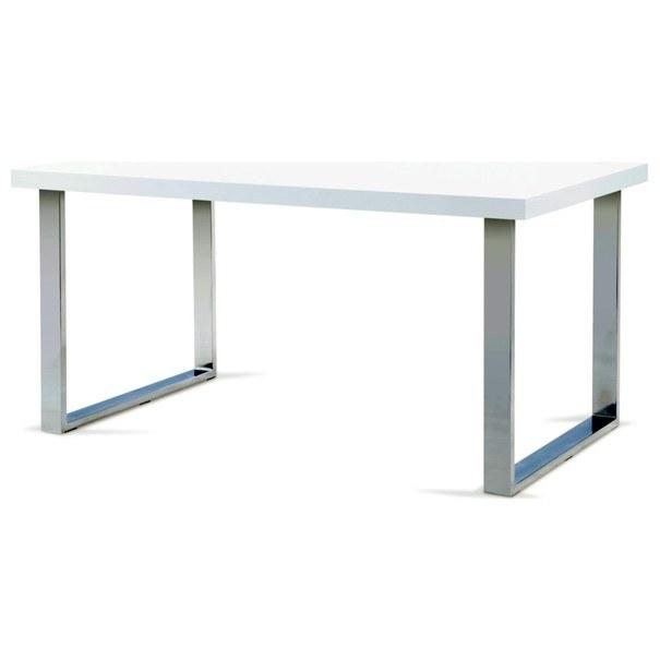 Jídelní stůl PABLO bílá/chrom 1