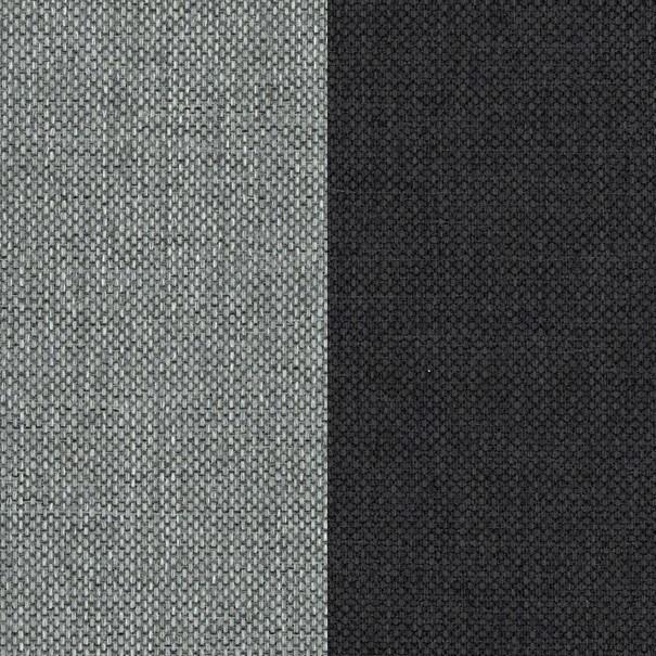 Sedacia súprava PALERMO ľavá, sivá/antracitová 3