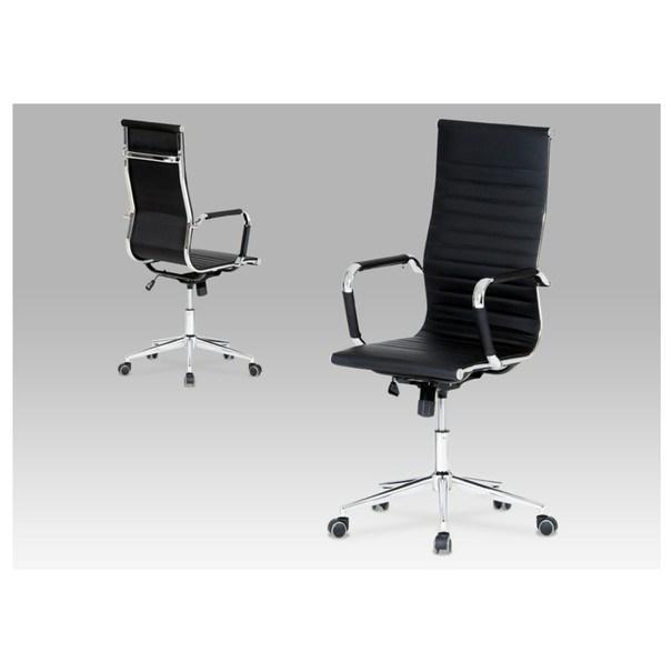 Kancelárska stolička PASCAL čierna 2