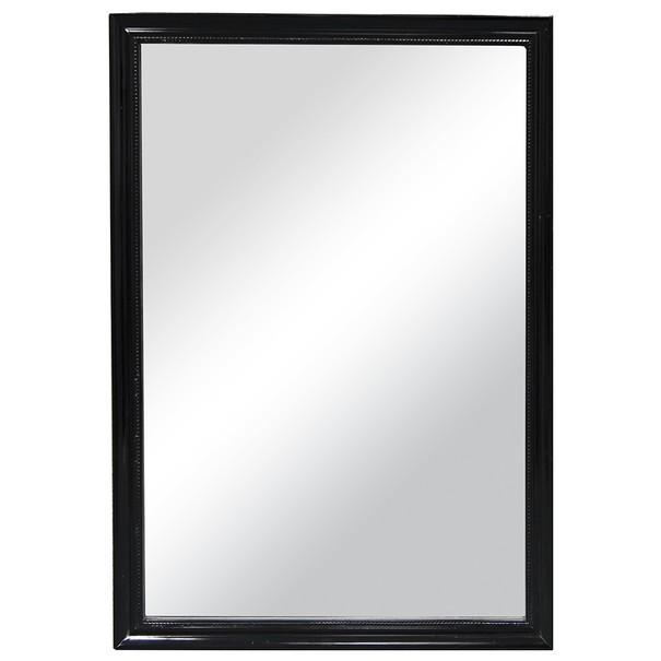 Rámové zrcadlo PAULINA černá 1