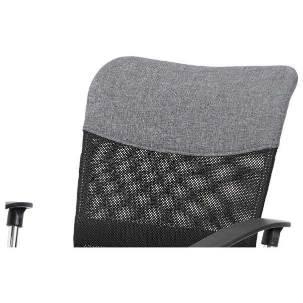 Kancelářská židle PEDRO šedá 6